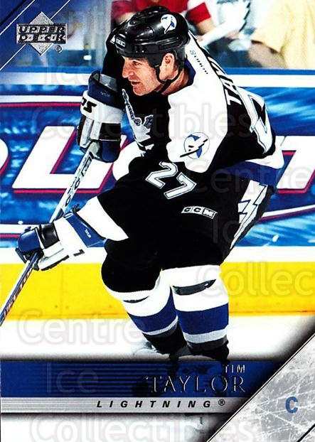 2005-06 Upper Deck #176 Tim Taylor<br/>7 In Stock - $1.00 each - <a href=https://centericecollectibles.foxycart.com/cart?name=2005-06%20Upper%20Deck%20%23176%20Tim%20Taylor...&quantity_max=7&price=$1.00&code=203964 class=foxycart> Buy it now! </a>