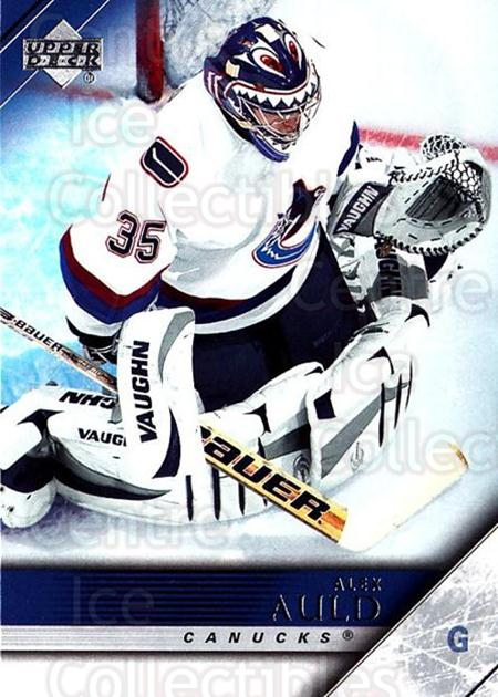 2005-06 Upper Deck #190 Alex Auld<br/>4 In Stock - $1.00 each - <a href=https://centericecollectibles.foxycart.com/cart?name=2005-06%20Upper%20Deck%20%23190%20Alex%20Auld...&quantity_max=4&price=$1.00&code=203979 class=foxycart> Buy it now! </a>