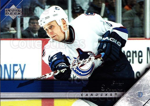 2005-06 Upper Deck #191 Sami Salo<br/>6 In Stock - $1.00 each - <a href=https://centericecollectibles.foxycart.com/cart?name=2005-06%20Upper%20Deck%20%23191%20Sami%20Salo...&quantity_max=6&price=$1.00&code=203980 class=foxycart> Buy it now! </a>