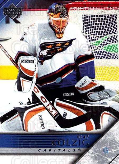 2005-06 Upper Deck #193 Olaf Kolzig<br/>3 In Stock - $1.00 each - <a href=https://centericecollectibles.foxycart.com/cart?name=2005-06%20Upper%20Deck%20%23193%20Olaf%20Kolzig...&quantity_max=3&price=$1.00&code=203982 class=foxycart> Buy it now! </a>