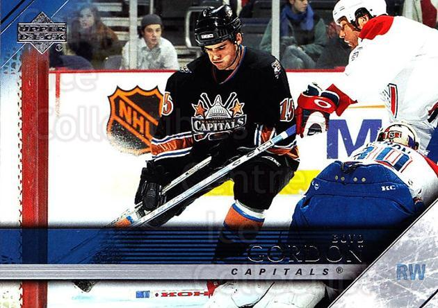 2005-06 Upper Deck #198 Boyd Gordon<br/>4 In Stock - $1.00 each - <a href=https://centericecollectibles.foxycart.com/cart?name=2005-06%20Upper%20Deck%20%23198%20Boyd%20Gordon...&price=$1.00&code=203987 class=foxycart> Buy it now! </a>