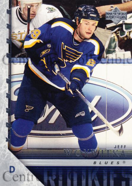 2005-06 Upper Deck #220 Jeff Woywitka<br/>4 In Stock - $5.00 each - <a href=https://centericecollectibles.foxycart.com/cart?name=2005-06%20Upper%20Deck%20%23220%20Jeff%20Woywitka...&price=$5.00&code=203994 class=foxycart> Buy it now! </a>