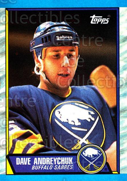1989-90 Topps #106 Dave Andreychuk<br/>6 In Stock - $1.00 each - <a href=https://centericecollectibles.foxycart.com/cart?name=1989-90%20Topps%20%23106%20Dave%20Andreychuk...&quantity_max=6&price=$1.00&code=20401 class=foxycart> Buy it now! </a>