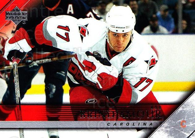 2005-06 Upper Deck #281 Rod Brind'Amour<br/>6 In Stock - $1.00 each - <a href=https://centericecollectibles.foxycart.com/cart?name=2005-06%20Upper%20Deck%20%23281%20Rod%20Brind'Amour...&quantity_max=6&price=$1.00&code=204041 class=foxycart> Buy it now! </a>