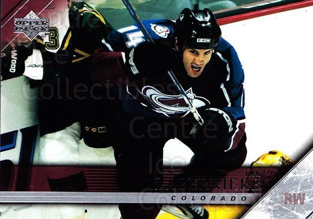 2005-06 Upper Deck #294 Ian Laperriere<br/>7 In Stock - $1.00 each - <a href=https://centericecollectibles.foxycart.com/cart?name=2005-06%20Upper%20Deck%20%23294%20Ian%20Laperriere...&quantity_max=7&price=$1.00&code=204054 class=foxycart> Buy it now! </a>