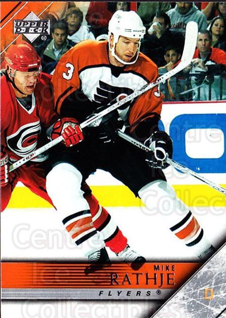 2005-06 Upper Deck #388 Mike Rathje<br/>5 In Stock - $1.00 each - <a href=https://centericecollectibles.foxycart.com/cart?name=2005-06%20Upper%20Deck%20%23388%20Mike%20Rathje...&quantity_max=5&price=$1.00&code=204137 class=foxycart> Buy it now! </a>