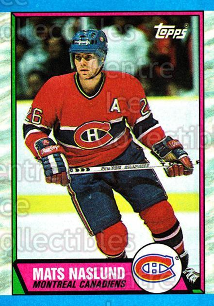 1989-90 Topps #118 Mats Naslund<br/>4 In Stock - $1.00 each - <a href=https://centericecollectibles.foxycart.com/cart?name=1989-90%20Topps%20%23118%20Mats%20Naslund...&quantity_max=4&price=$1.00&code=20414 class=foxycart> Buy it now! </a>