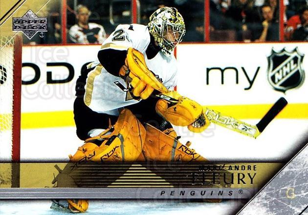 2005-06 Upper Deck #400 Marc-Andre Fleury<br/>3 In Stock - $2.00 each - <a href=https://centericecollectibles.foxycart.com/cart?name=2005-06%20Upper%20Deck%20%23400%20Marc-Andre%20Fleu...&quantity_max=3&price=$2.00&code=204151 class=foxycart> Buy it now! </a>