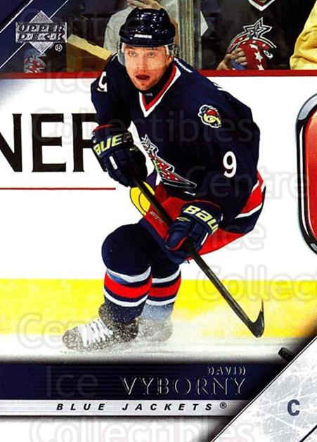 2005-06 Upper Deck #54 David Vyborny<br/>6 In Stock - $1.00 each - <a href=https://centericecollectibles.foxycart.com/cart?name=2005-06%20Upper%20Deck%20%2354%20David%20Vyborny...&quantity_max=6&price=$1.00&code=204208 class=foxycart> Buy it now! </a>