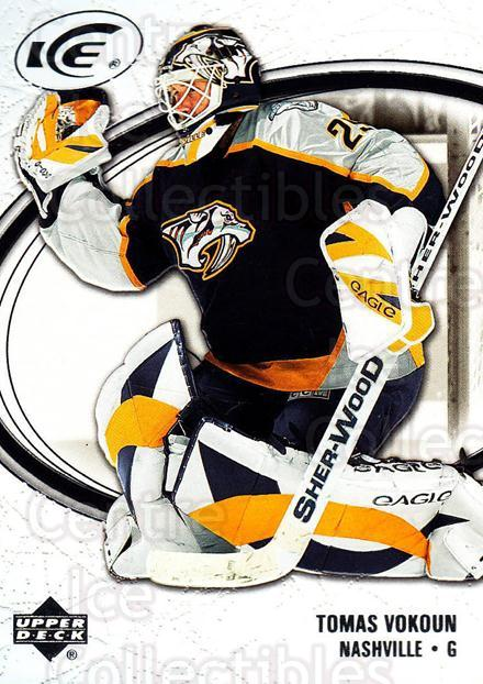 2005-06 UD Ice #55 Tomas Vokoun<br/>4 In Stock - $1.00 each - <a href=https://centericecollectibles.foxycart.com/cart?name=2005-06%20UD%20Ice%20%2355%20Tomas%20Vokoun...&quantity_max=4&price=$1.00&code=204254 class=foxycart> Buy it now! </a>