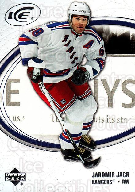 2005-06 UD Ice #62 Jaromir Jagr<br/>4 In Stock - $2.00 each - <a href=https://centericecollectibles.foxycart.com/cart?name=2005-06%20UD%20Ice%20%2362%20Jaromir%20Jagr...&quantity_max=4&price=$2.00&code=204259 class=foxycart> Buy it now! </a>