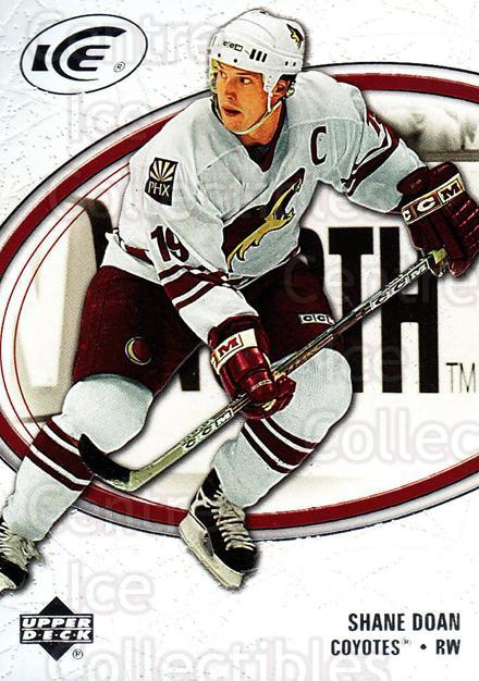 2005-06 UD Ice #74 Shane Doan<br/>3 In Stock - $1.00 each - <a href=https://centericecollectibles.foxycart.com/cart?name=2005-06%20UD%20Ice%20%2374%20Shane%20Doan...&quantity_max=3&price=$1.00&code=204272 class=foxycart> Buy it now! </a>