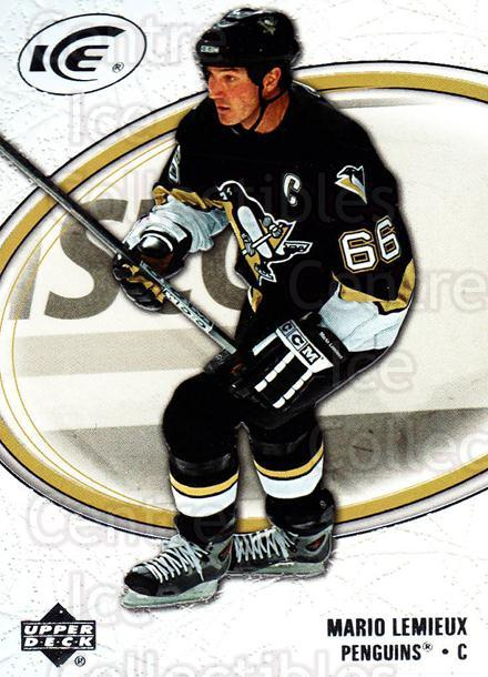 2005-06 UD Ice #76 Mario Lemieux<br/>1 In Stock - $2.00 each - <a href=https://centericecollectibles.foxycart.com/cart?name=2005-06%20UD%20Ice%20%2376%20Mario%20Lemieux...&quantity_max=1&price=$2.00&code=204274 class=foxycart> Buy it now! </a>