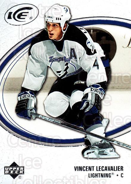 2005-06 UD Ice #89 Vincent Lecavalier<br/>2 In Stock - $1.00 each - <a href=https://centericecollectibles.foxycart.com/cart?name=2005-06%20UD%20Ice%20%2389%20Vincent%20Lecaval...&quantity_max=2&price=$1.00&code=204288 class=foxycart> Buy it now! </a>