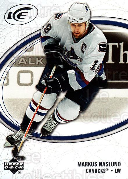 2005-06 UD Ice #95 Markus Naslund<br/>4 In Stock - $1.00 each - <a href=https://centericecollectibles.foxycart.com/cart?name=2005-06%20UD%20Ice%20%2395%20Markus%20Naslund...&quantity_max=4&price=$1.00&code=204295 class=foxycart> Buy it now! </a>