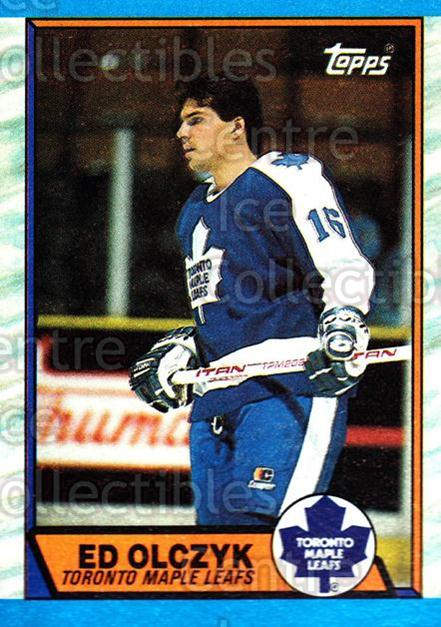 1989-90 Topps #133 Ed Olczyk<br/>4 In Stock - $1.00 each - <a href=https://centericecollectibles.foxycart.com/cart?name=1989-90%20Topps%20%23133%20Ed%20Olczyk...&quantity_max=4&price=$1.00&code=20430 class=foxycart> Buy it now! </a>
