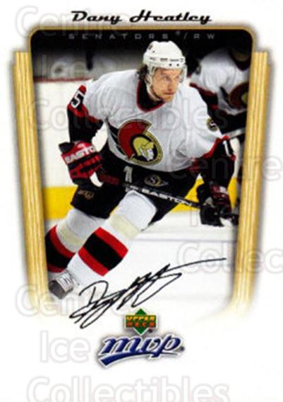 2005-06 Upper Deck MVP #266 Dany Heatley<br/>5 In Stock - $1.00 each - <a href=https://centericecollectibles.foxycart.com/cart?name=2005-06%20Upper%20Deck%20MVP%20%23266%20Dany%20Heatley...&quantity_max=5&price=$1.00&code=204327 class=foxycart> Buy it now! </a>