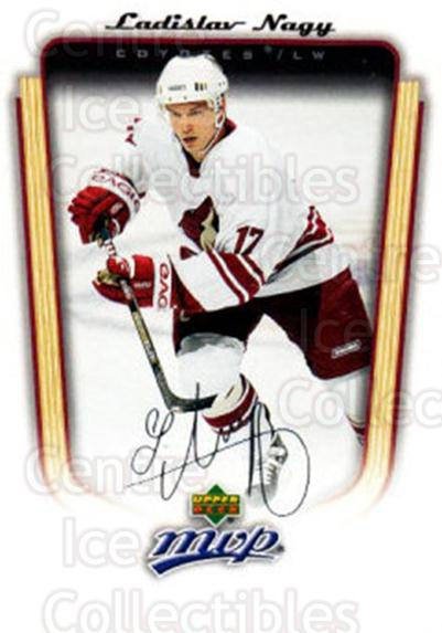 2005-06 Upper Deck MVP #301 Ladislav Nagy<br/>4 In Stock - $1.00 each - <a href=https://centericecollectibles.foxycart.com/cart?name=2005-06%20Upper%20Deck%20MVP%20%23301%20Ladislav%20Nagy...&quantity_max=4&price=$1.00&code=204368 class=foxycart> Buy it now! </a>