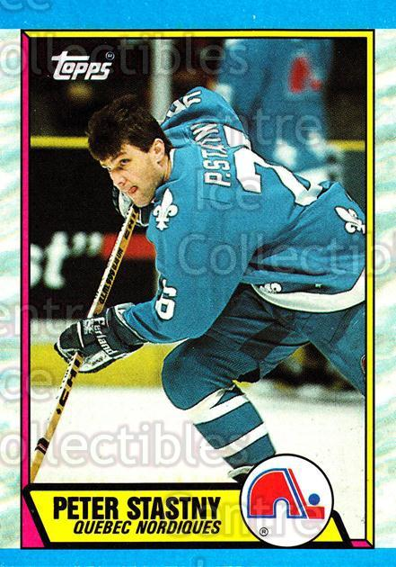 1989-90 Topps #143 Peter Stastny<br/>6 In Stock - $2.00 each - <a href=https://centericecollectibles.foxycart.com/cart?name=1989-90%20Topps%20%23143%20Peter%20Stastny...&quantity_max=6&price=$2.00&code=20439 class=foxycart> Buy it now! </a>