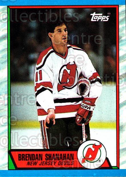 1989-90 Topps #147 Brendan Shanahan<br/>6 In Stock - $2.00 each - <a href=https://centericecollectibles.foxycart.com/cart?name=1989-90%20Topps%20%23147%20Brendan%20Shanaha...&quantity_max=6&price=$2.00&code=20442 class=foxycart> Buy it now! </a>