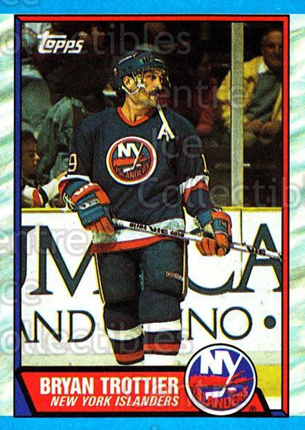 1989-90 Topps #149 Bryan Trottier<br/>6 In Stock - $2.00 each - <a href=https://centericecollectibles.foxycart.com/cart?name=1989-90%20Topps%20%23149%20Bryan%20Trottier...&quantity_max=6&price=$2.00&code=20444 class=foxycart> Buy it now! </a>