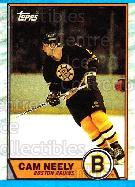1989-90 Topps #15 Cam Neely<br/>5 In Stock - $1.00 each - <a href=https://centericecollectibles.foxycart.com/cart?name=1989-90%20Topps%20%2315%20Cam%20Neely...&quantity_max=5&price=$1.00&code=20445 class=foxycart> Buy it now! </a>