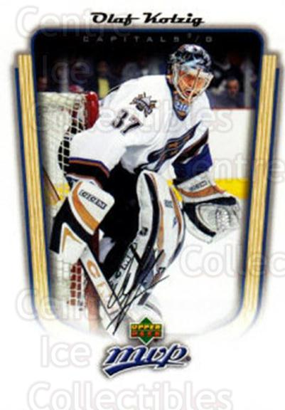 2005-06 Upper Deck MVP #384 Olaf Kolzig<br/>5 In Stock - $1.00 each - <a href=https://centericecollectibles.foxycart.com/cart?name=2005-06%20Upper%20Deck%20MVP%20%23384%20Olaf%20Kolzig...&quantity_max=5&price=$1.00&code=204463 class=foxycart> Buy it now! </a>