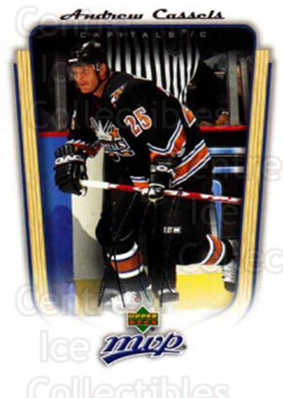 2005-06 Upper Deck MVP #390 Andrew Cassels<br/>5 In Stock - $1.00 each - <a href=https://centericecollectibles.foxycart.com/cart?name=2005-06%20Upper%20Deck%20MVP%20%23390%20Andrew%20Cassels...&quantity_max=5&price=$1.00&code=204470 class=foxycart> Buy it now! </a>