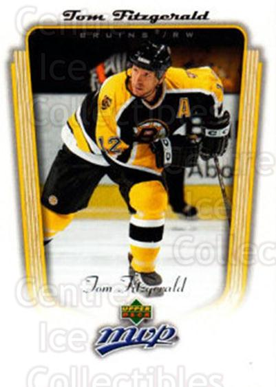 2005-06 Upper Deck MVP #41 Tom Fitzgerald<br/>4 In Stock - $1.00 each - <a href=https://centericecollectibles.foxycart.com/cart?name=2005-06%20Upper%20Deck%20MVP%20%2341%20Tom%20Fitzgerald...&quantity_max=4&price=$1.00&code=204484 class=foxycart> Buy it now! </a>