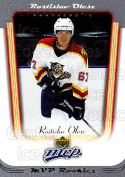 2005-06 Upper Deck MVP #416 Rostislav Olesz<br/>6 In Stock - $2.00 each - <a href=https://centericecollectibles.foxycart.com/cart?name=2005-06%20Upper%20Deck%20MVP%20%23416%20Rostislav%20Olesz...&quantity_max=6&price=$2.00&code=204491 class=foxycart> Buy it now! </a>