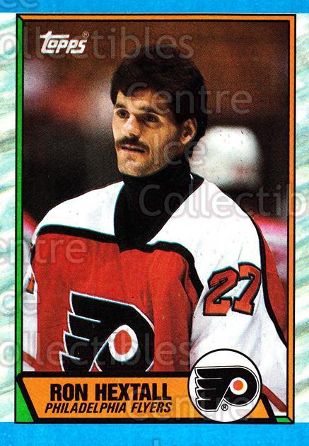 1989-90 Topps #155 Ron Hextall<br/>4 In Stock - $1.00 each - <a href=https://centericecollectibles.foxycart.com/cart?name=1989-90%20Topps%20%23155%20Ron%20Hextall...&quantity_max=4&price=$1.00&code=20450 class=foxycart> Buy it now! </a>