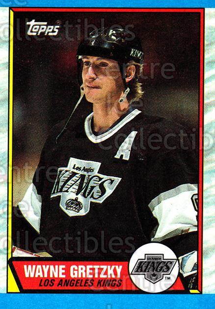 1989-90 Topps #156 Wayne Gretzky<br/>22 In Stock - $3.00 each - <a href=https://centericecollectibles.foxycart.com/cart?name=1989-90%20Topps%20%23156%20Wayne%20Gretzky...&quantity_max=22&price=$3.00&code=20451 class=foxycart> Buy it now! </a>