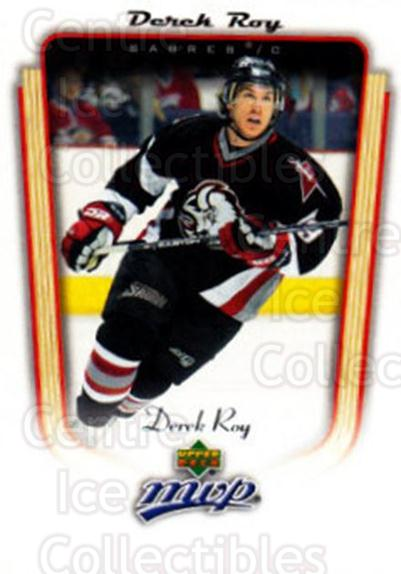 2005-06 Upper Deck MVP #49 Derek Roy<br/>5 In Stock - $1.00 each - <a href=https://centericecollectibles.foxycart.com/cart?name=2005-06%20Upper%20Deck%20MVP%20%2349%20Derek%20Roy...&quantity_max=5&price=$1.00&code=204523 class=foxycart> Buy it now! </a>