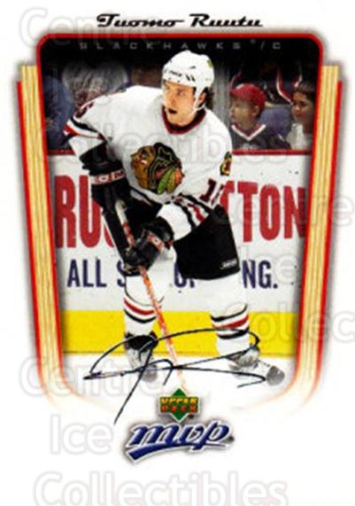 2005-06 Upper Deck MVP #86 Tuomo Ruutu<br/>5 In Stock - $1.00 each - <a href=https://centericecollectibles.foxycart.com/cart?name=2005-06%20Upper%20Deck%20MVP%20%2386%20Tuomo%20Ruutu...&quantity_max=5&price=$1.00&code=204562 class=foxycart> Buy it now! </a>