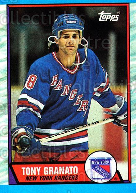 1989-90 Topps #161 Tony Granato<br/>4 In Stock - $1.00 each - <a href=https://centericecollectibles.foxycart.com/cart?name=1989-90%20Topps%20%23161%20Tony%20Granato...&quantity_max=4&price=$1.00&code=20457 class=foxycart> Buy it now! </a>