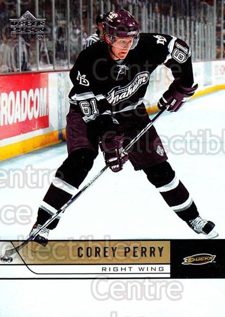 2006-07 Upper Deck #1 Corey Perry<br/>11 In Stock - $1.00 each - <a href=https://centericecollectibles.foxycart.com/cart?name=2006-07%20Upper%20Deck%20%231%20Corey%20Perry...&quantity_max=11&price=$1.00&code=204599 class=foxycart> Buy it now! </a>