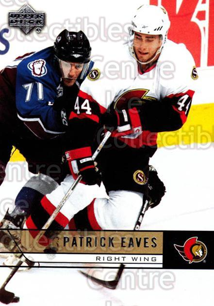 2006-07 Upper Deck #138 Patrick Eaves<br/>12 In Stock - $1.00 each - <a href=https://centericecollectibles.foxycart.com/cart?name=2006-07%20Upper%20Deck%20%23138%20Patrick%20Eaves...&quantity_max=12&price=$1.00&code=204631 class=foxycart> Buy it now! </a>