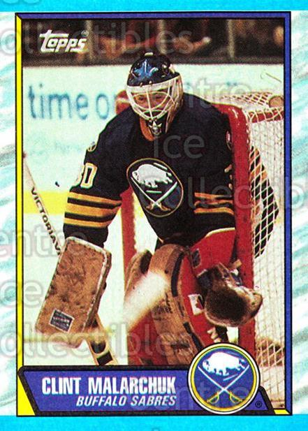 1989-90 Topps #170 Clint Malarchuk<br/>5 In Stock - $1.00 each - <a href=https://centericecollectibles.foxycart.com/cart?name=1989-90%20Topps%20%23170%20Clint%20Malarchuk...&quantity_max=5&price=$1.00&code=20464 class=foxycart> Buy it now! </a>