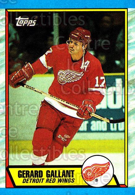 1989-90 Topps #172 Gerard Gallant<br/>6 In Stock - $1.00 each - <a href=https://centericecollectibles.foxycart.com/cart?name=1989-90%20Topps%20%23172%20Gerard%20Gallant...&quantity_max=6&price=$1.00&code=20466 class=foxycart> Buy it now! </a>