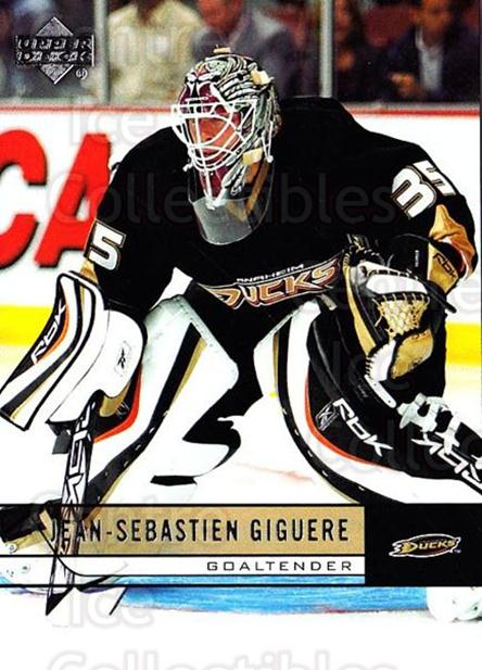 2006-07 Upper Deck #254 Jean-Sebastien Giguere<br/>2 In Stock - $1.00 each - <a href=https://centericecollectibles.foxycart.com/cart?name=2006-07%20Upper%20Deck%20%23254%20Jean-Sebastien%20...&quantity_max=2&price=$1.00&code=204699 class=foxycart> Buy it now! </a>