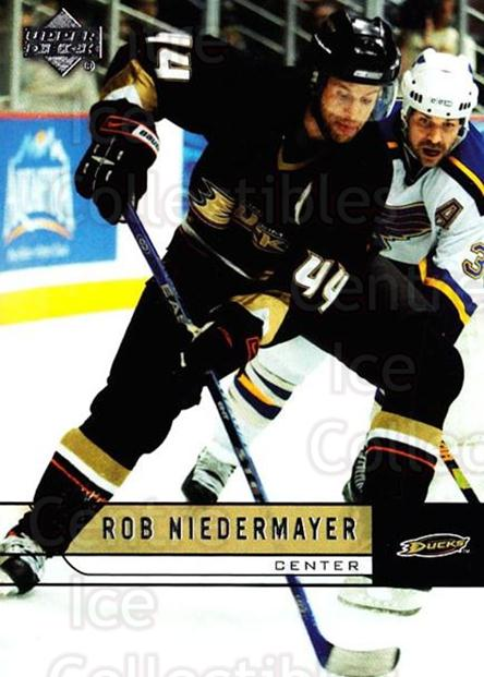 2006-07 Upper Deck #255 Rob Niedermayer<br/>3 In Stock - $1.00 each - <a href=https://centericecollectibles.foxycart.com/cart?name=2006-07%20Upper%20Deck%20%23255%20Rob%20Niedermayer...&quantity_max=3&price=$1.00&code=204700 class=foxycart> Buy it now! </a>
