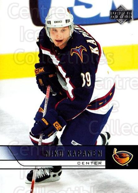 2006-07 Upper Deck #260 Niko Kapanen<br/>5 In Stock - $1.00 each - <a href=https://centericecollectibles.foxycart.com/cart?name=2006-07%20Upper%20Deck%20%23260%20Niko%20Kapanen...&quantity_max=5&price=$1.00&code=204705 class=foxycart> Buy it now! </a>