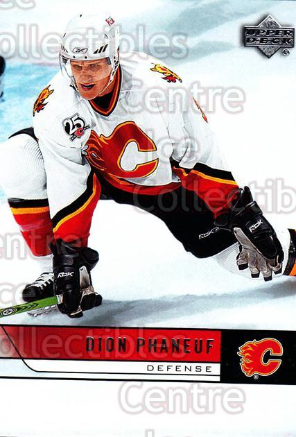 2006-07 Upper Deck #29 Dion Phaneuf<br/>10 In Stock - $1.00 each - <a href=https://centericecollectibles.foxycart.com/cart?name=2006-07%20Upper%20Deck%20%2329%20Dion%20Phaneuf...&price=$1.00&code=204727 class=foxycart> Buy it now! </a>