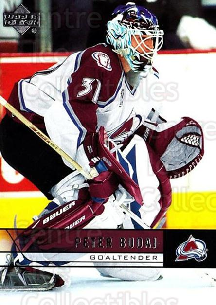 2006-07 Upper Deck #302 Peter Budaj<br/>4 In Stock - $1.00 each - <a href=https://centericecollectibles.foxycart.com/cart?name=2006-07%20Upper%20Deck%20%23302%20Peter%20Budaj...&quantity_max=4&price=$1.00&code=204737 class=foxycart> Buy it now! </a>