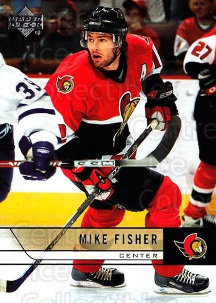 2006-07 Upper Deck #390 Mike Fisher<br/>4 In Stock - $1.00 each - <a href=https://centericecollectibles.foxycart.com/cart?name=2006-07%20Upper%20Deck%20%23390%20Mike%20Fisher...&quantity_max=4&price=$1.00&code=204805 class=foxycart> Buy it now! </a>