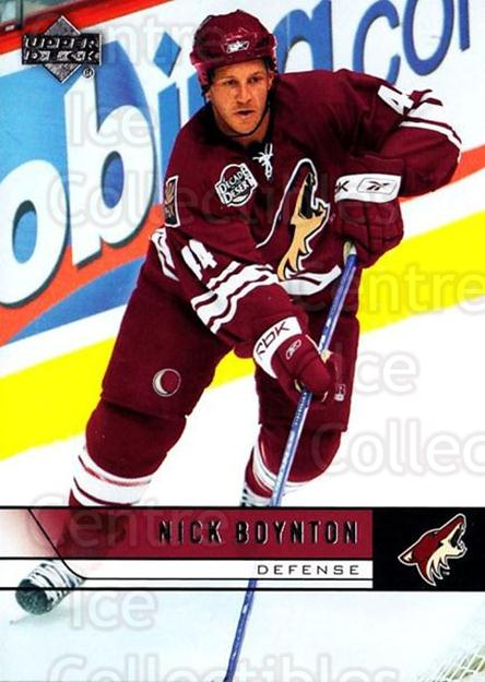 2006-07 Upper Deck #400 Nick Boynton<br/>5 In Stock - $1.00 each - <a href=https://centericecollectibles.foxycart.com/cart?name=2006-07%20Upper%20Deck%20%23400%20Nick%20Boynton...&quantity_max=5&price=$1.00&code=204816 class=foxycart> Buy it now! </a>