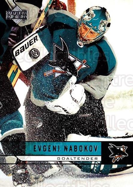 2006-07 Upper Deck #415 Evgeni Nabokov<br/>4 In Stock - $1.00 each - <a href=https://centericecollectibles.foxycart.com/cart?name=2006-07%20Upper%20Deck%20%23415%20Evgeni%20Nabokov...&quantity_max=4&price=$1.00&code=204825 class=foxycart> Buy it now! </a>