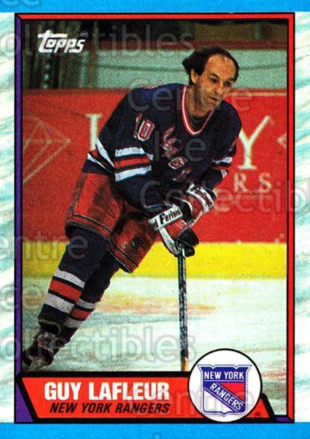1989-90 Topps #189 Guy Lafleur<br/>4 In Stock - $2.00 each - <a href=https://centericecollectibles.foxycart.com/cart?name=1989-90%20Topps%20%23189%20Guy%20Lafleur...&quantity_max=4&price=$2.00&code=20484 class=foxycart> Buy it now! </a>