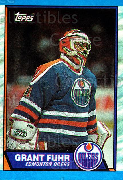 1989-90 Topps #192 Grant Fuhr<br/>4 In Stock - $2.00 each - <a href=https://centericecollectibles.foxycart.com/cart?name=1989-90%20Topps%20%23192%20Grant%20Fuhr...&quantity_max=4&price=$2.00&code=20487 class=foxycart> Buy it now! </a>