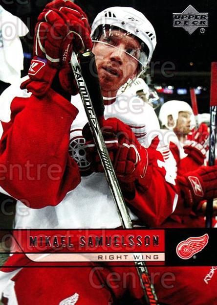 2006-07 Upper Deck #69 Mikael Samuelsson<br/>12 In Stock - $1.00 each - <a href=https://centericecollectibles.foxycart.com/cart?name=2006-07%20Upper%20Deck%20%2369%20Mikael%20Samuelss...&quantity_max=12&price=$1.00&code=204886 class=foxycart> Buy it now! </a>